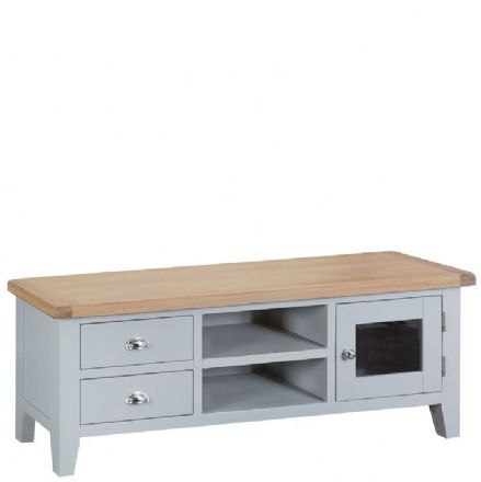 Toulouse Grey Large TV Unit